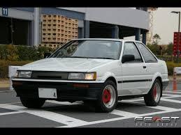 toyota corolla 1985 test drive 1985 toyota corolla levin advan oni trd