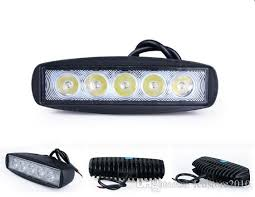 6 inch light bar best 1550lm 6 inch 18w 6x3w mini cree led bar work light as