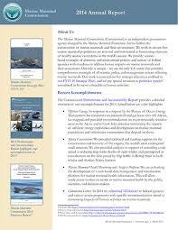 annual reports marine mammal commission