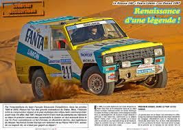 nissan dakar offroad 4x4 magazine le nissan patrol fanta limon