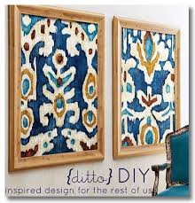 11 inexpensive quality home decor diy projects framed fabric art
