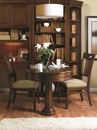 dining room desk partner u0027s peninsula desk with two drop front drawers u0026 pedestal