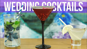 classic cocktail recipes summer wedding cocktail recipes youtube
