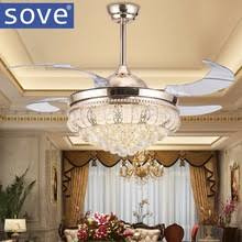 Ceiling Fan And Chandelier Popular Ceiling Fan Crystal Chandelier Buy Cheap Ceiling Fan