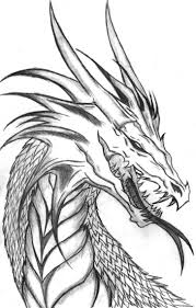 realistic dragon coloring page printable pages click the to view