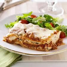makeover traditional lasagna recipe taste of home