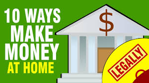 10 ways to make money from home in 2017 youtube