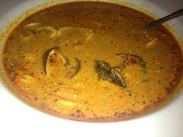 colibri cuisine pariguela peruana mixed seafood with salsa flavorful but