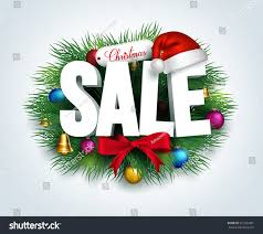 christmas decorations sale 3d christmas sale text promotion leaves stock vector 327502481