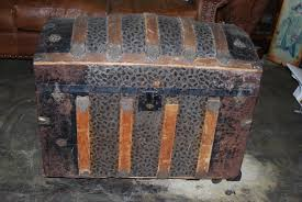 beautiful travel trunks antique domed steamer trunk 1900 store pick up only