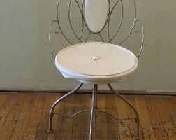 vintage vanity chair etsy