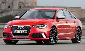 audi rs6 horsepower 2014 audi rs6 sedan rendered autoevolution