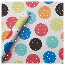 polka dot wrapping paper target foil gift wrap birthday dots spritz target