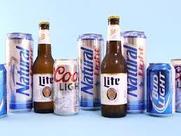 coors light party ball blind taste test of bud coors miller and natty light beers