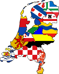 netherlands map flag provinces flag map by heersander on deviantart