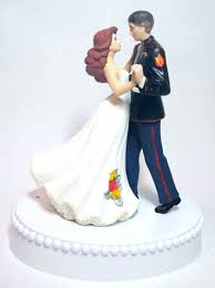marine cake topper marine wedding cake topper exles of personalized tops