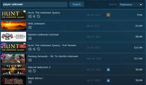 pubg steam crappy games keep trying to steal pubg s name on steam kotaku
