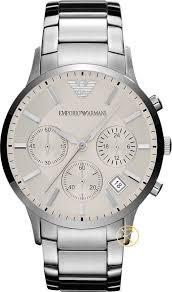 armani steel bracelet images Emporio armani watch men 39 s chronograph stainless steel bracelet jpeg