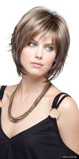 sliced layered chin lengt bob with bangs short layered hairstyles for women s layered bobs bobs and layering