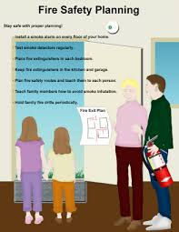 home fire safety plan fire safety planning staying safe at home work play