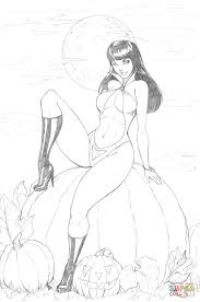 vampirella from a comic book