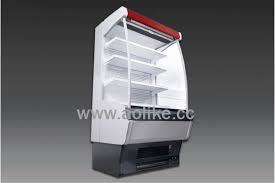 supermarket equipment used commercial refrigerator open display