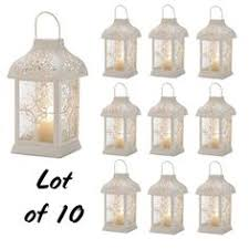 White Lantern Centerpieces by Vintage Wedding Lantern Centerpieces My Wedding Pinterest