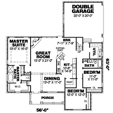 sorority house floor plans country style house plan 3 beds 2 00 baths 1994 sq ft plan 34 167
