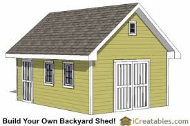 Diy Garden Shed Design by 14x20 Shed Plans Build A Large Storage Shed Diy Shed Designs