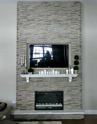 diy fireplace building a fireplace using stone veneer paneling this took one person two days to complete