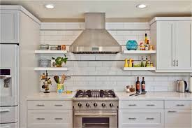 white shaker kitchen cabinets with white subway tile backsplash electrician jackson ms for contemporary kitchen also open