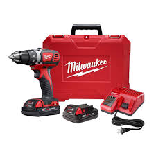 milwaukee m18 18 volt lithium ion cordless 1 2 in drill driver