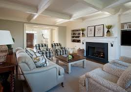 Square Living Room Layout | private residence newtown square pa traditional living room