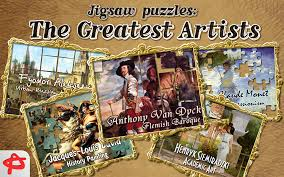 amazon com greatest artists free jigsaw puzzle appstore for android