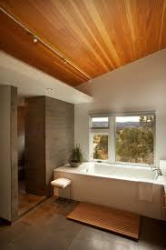 sloped ceiling bathroom track lighting modern bathroom track
