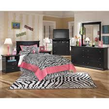 twin panel headboard 5 pc bedroom package
