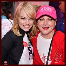 til emma stone celebrated her mom being 2 years cancer free in