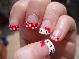nail designs kitty christmas nail designs cute kitty
