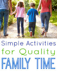 5 simple activities for quality family time happiness is