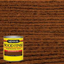minwax 1 qt wood finish red mahogany oil based interior stain