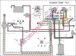mercury outboard power trim wiring diagram mercury wiring