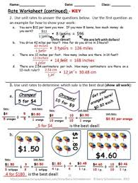 and unit rates worksheet notes poetry and warm up problems