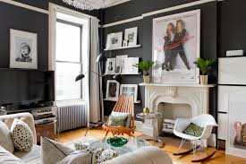 eclectic furniture and decor family picture decoration on wall living room eclectic with framed