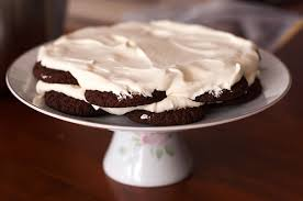 how to make a chocolate ripple cake no bake
