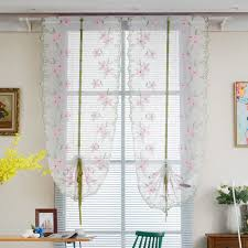 Roman Curtains Compare Prices On Peach Window Curtains Online Shopping Buy Low
