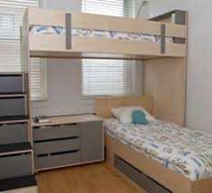 Cute L Shaped Bunk Beds For Children Bedroom Enchanting L Shaped - Kids l shaped bunk beds