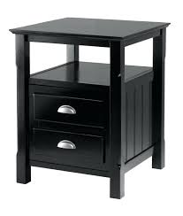 bedroom end tables brilliant gdfstudio noah wood short drawer end table reviews houzz
