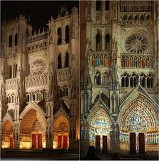 amiens cathedral in colour medieval gothic splendour by day u0026 night