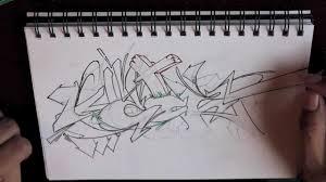 new graffiti sketch