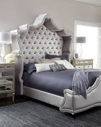 Tufted Headboard Footboard Haute House Antoinette Bed Exclusively Ours With Its Shapely